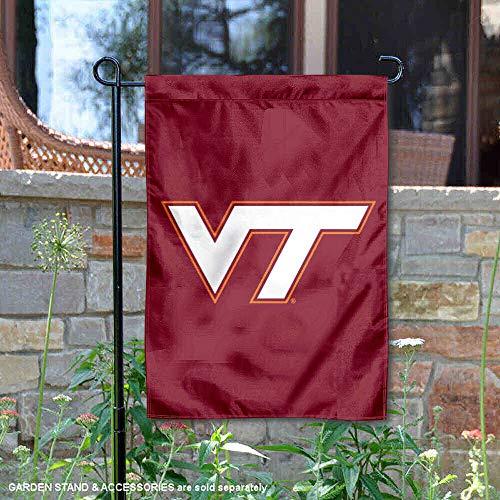 (College Flags and Banners Co. Virginia Tech Hokies VT Logo Garden Flag)