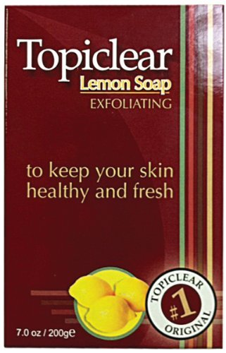(Topiclear Lemon Soap 190 ml (Pack of 2) by TOPICLEAR)
