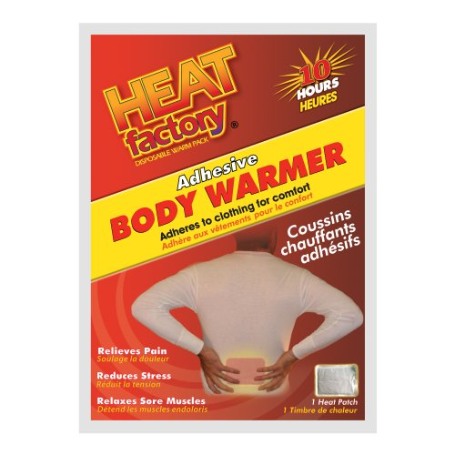 Heat Factory 10 Hour Adhesive Body Warmer, 40 Pack