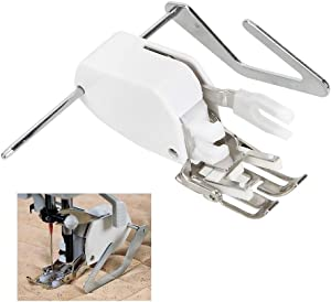 PannySewCraft Even Feed Walking Sewing Machine Presser Foot with Quilt Guide for Brother Singer Janome