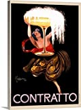 Great BIG Canvas Gallery-Wrapped Canvas entitled Contratto