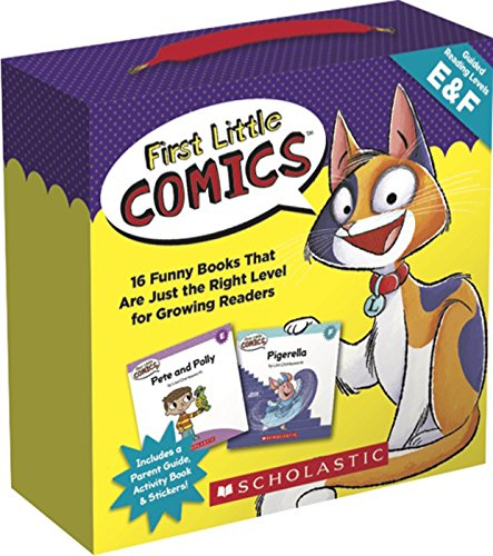 Parents Little Book (First Little Comics Parent Pack: Levels E & F: 16 Funny Books That Are Just the Right Level for Growing Readers)