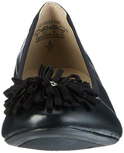 Caprice Damen Damen Damen 22158 Geschlossene Ballerinas 2f407e