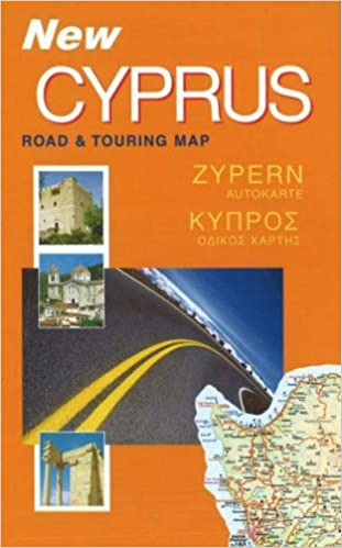 Cyprus Road and Touring Map Amazoncouk Cyprus Books