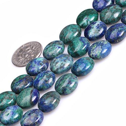 Lapis Lazuli Malachite Beads for Jewelry Making Gemstone Semi Precious 12mm Coin 15