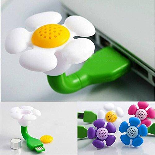 Bargain World USB Mini Aroma Diffuser Air Humidifier Flower Perfume Mini Electric Aromatherapy Essential Oil Diffu