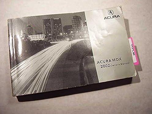 2002 acura mdx owners manual acura amazon com books rh amazon com 2002 acura mdx service manual 2004 acura mdx manual pdf
