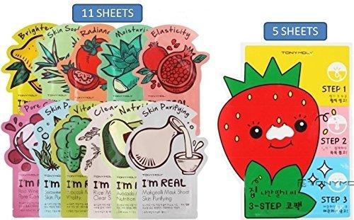 BUNDLE TONYMOLY sheets Seedless Strawberry product image