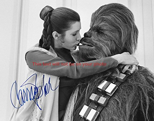 Carrie Fisher Autographed 8x10 Glossy Photo from Celebrity Graphs