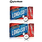 2 Boxes TaylorMade Noodle Long & Soft Golf Ball, 15-Ball Pack (30 Balls)