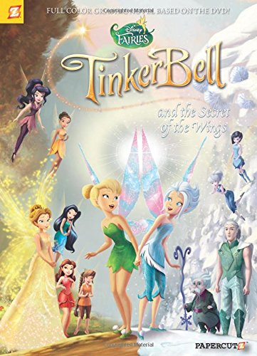 Tinkerbell Tea - Disney Fairies Graphic Novel #15: Tinker Bell and the Secret of the Wings