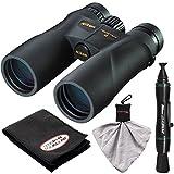 Nikon Prostaff 5 12×50 ATB Waterproof/Fogproof Binoculars with Case + Cleaning + Accessory Kit