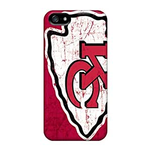 Fashion Tpu Case For Iphone 5/5s- Kansas City Chiefs Defender Case Cover