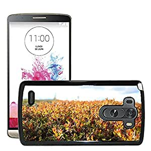 Hot Style Cell Phone PC Hard Case Cover // M00309560 Autumn Fall Lingonberry Plants // LG G3 VS985
