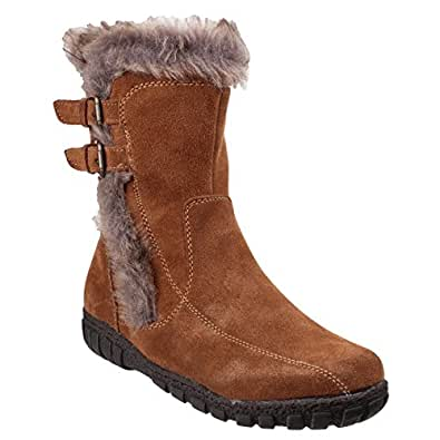 Amazon.com | Cotswold Womens/Ladies Aston Suede Winter