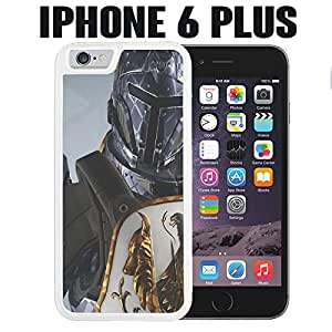 iPhone Case Warrior of the Future for iPhone 6 PLUS Plastic White (Ships from CA)