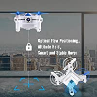Optical Flow Positioning, Mini RC Drones for Kids & Beginners, Easy to Control, Cheerson CX-OF Drone with Camera, Height Hold, One Key Take off Landing, Hand Movement Follow, Dance Style of Flying by Cheerson