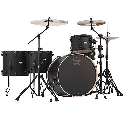 MAPEX Mars Series Crossover MA528SFBZW  5-Piece Drum Shell Pack, ()