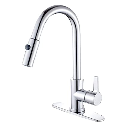 Lead Free Kitchen Faucets | Kingston Brass Gourmetier Gs8781ctl Continental Single Handle Lead