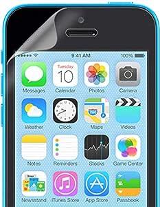 سكرين بروتيكتور- واقي شاشة شـفاف لجوالات ايفون 5سي - SCREEN PROTECTOR FOR IPHONE 5C A CLEAR (2in1)