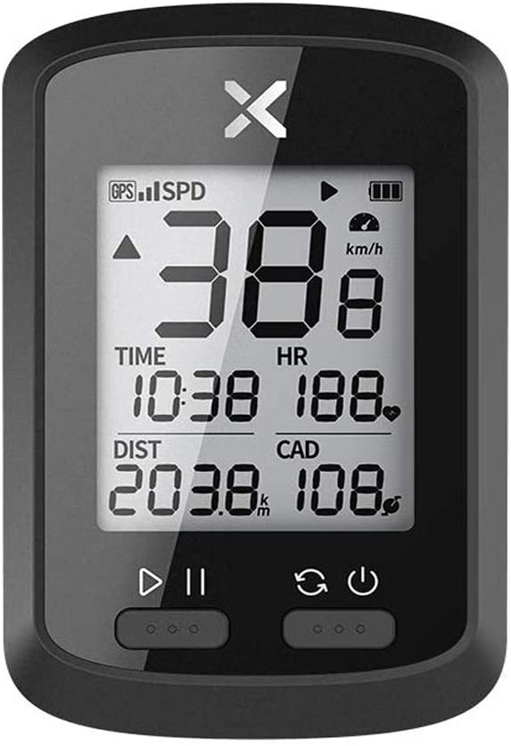 Bike Computer Wireless GPS Speedometer Waterproof Road Bike Bicycle Bluetooth ANT+ with Cycling Computers