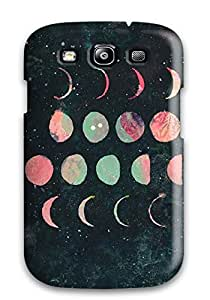 Cute High Quality Galaxy S3 Moon Phases Case