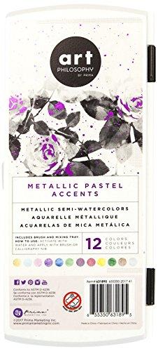 Prima Marketing Metallic Accents - Pastels