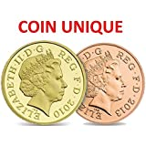 Pound and Penny Trick [£1/1p Coin Unique] Vanishing Penny Trick / Magnetic Version! / with free gift MAGIC TRICK included for a limited time!