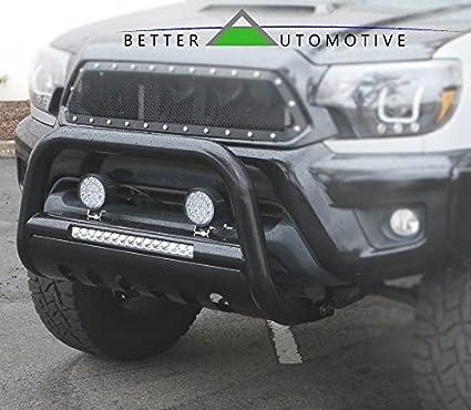 BETTER AUTOMOTIVE LED Bull Bar Fit 2005-2015 Nissan Xterra / 2005-2019  Frontier / 2005-2007 Nissan Pathfinder Pickup Truck 3