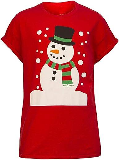 Poachers Camisetas termicas Mujer Manga Larga Navidad Camisas de Mujer Manga Corta Blusas para Mujer Verano Elegantes Camisas Mujer Verano Blusas Mujer Tallas Grandes Elegantes: Amazon.es: Ropa y accesorios