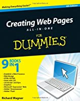 Creating Web Pages All-in-One For Dummies, 4th Edition Front Cover