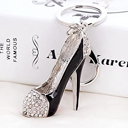 Crystal Rhinestone Diamante High Heel Shoe Decoration Chain for Phone Car  Bag Key Ring keychain Charm e8066dab2