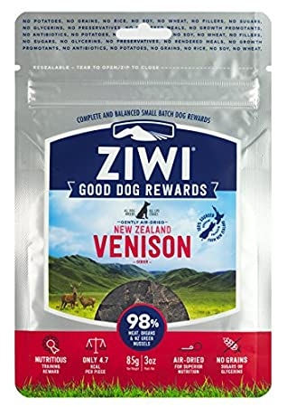 ZiwiPeak Venison Dog Treats (3 oz) ZRDDV0085P