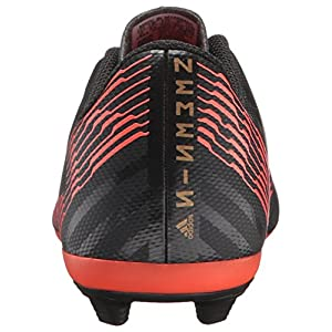 adidas Performance Boys' Nemeziz 17.4 FxG J, Core Black/Core Black/Solar Red, 1.5 M US Little Kid