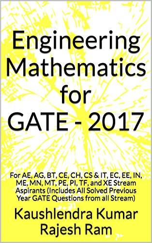 Amazon com: Engineering Mathematics for GATE - 2017: For AE