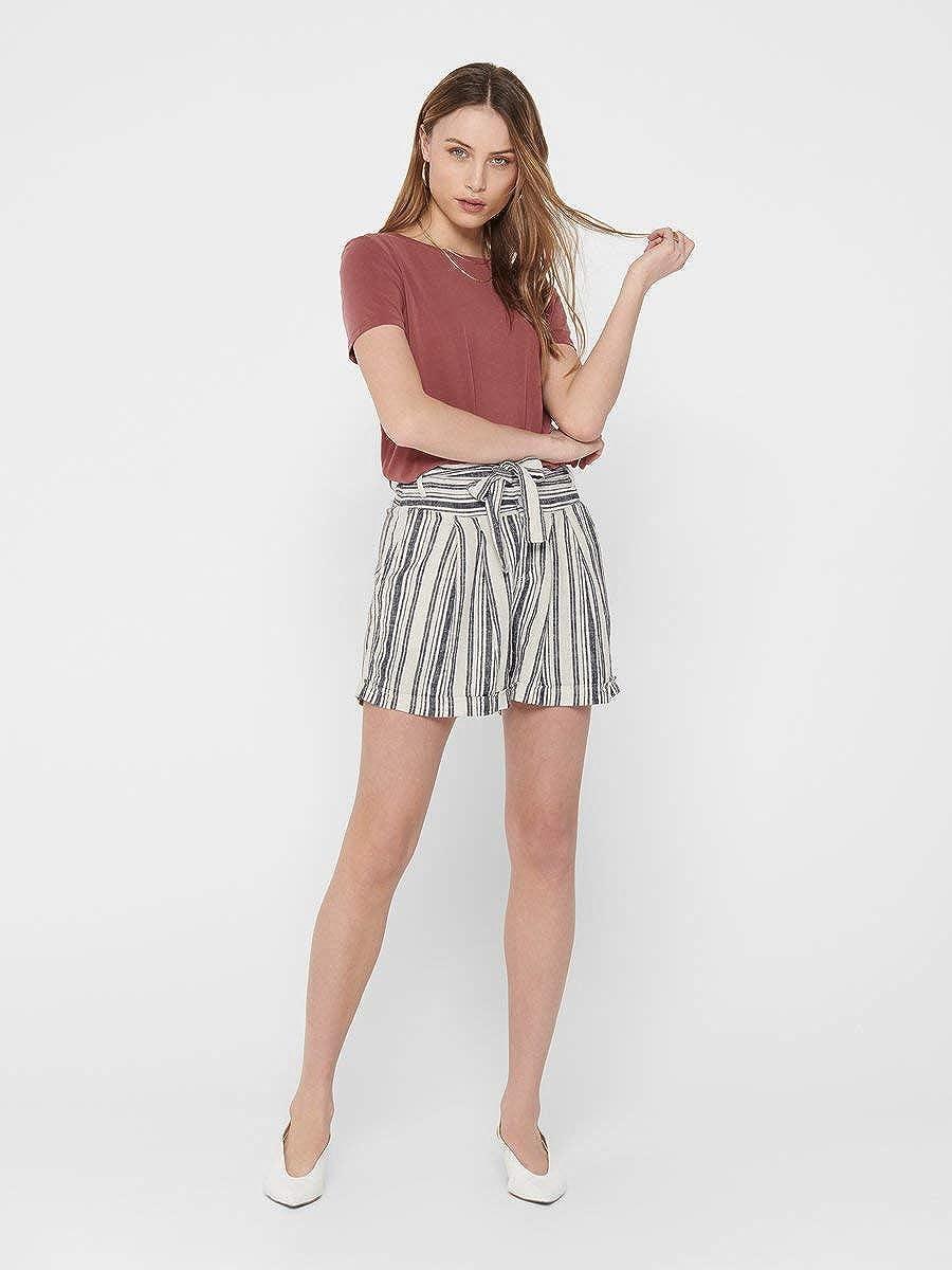 ONLY Damen Shorts Paperbag