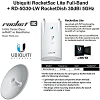 Ubiquiti R5AC-Lite Rocket5ac Lite Full-Band 5GHz airMAX AC BaseStation 450+Mbps