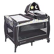 Baby Trend Lil Snooze Deluxe 2 Nursery Center, Twinkle Twinkle Moon
