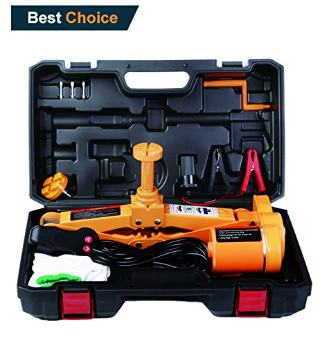 Buy Bargain Electric Car Jack 3 Ton by ROGTZ DC 12v All-in-one Automatic SUV Lift Scissor Jack Car Repair Tool