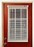 """MagneBlindTM Magnetic Mini Blinds (Half-Length) 25"""" x 41"""""""