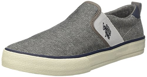 Uspolo Assn. Herren Turner Boston Slip On, Grau, 40 Eu Grau (grey Grey) Glisser Sur, (gris)