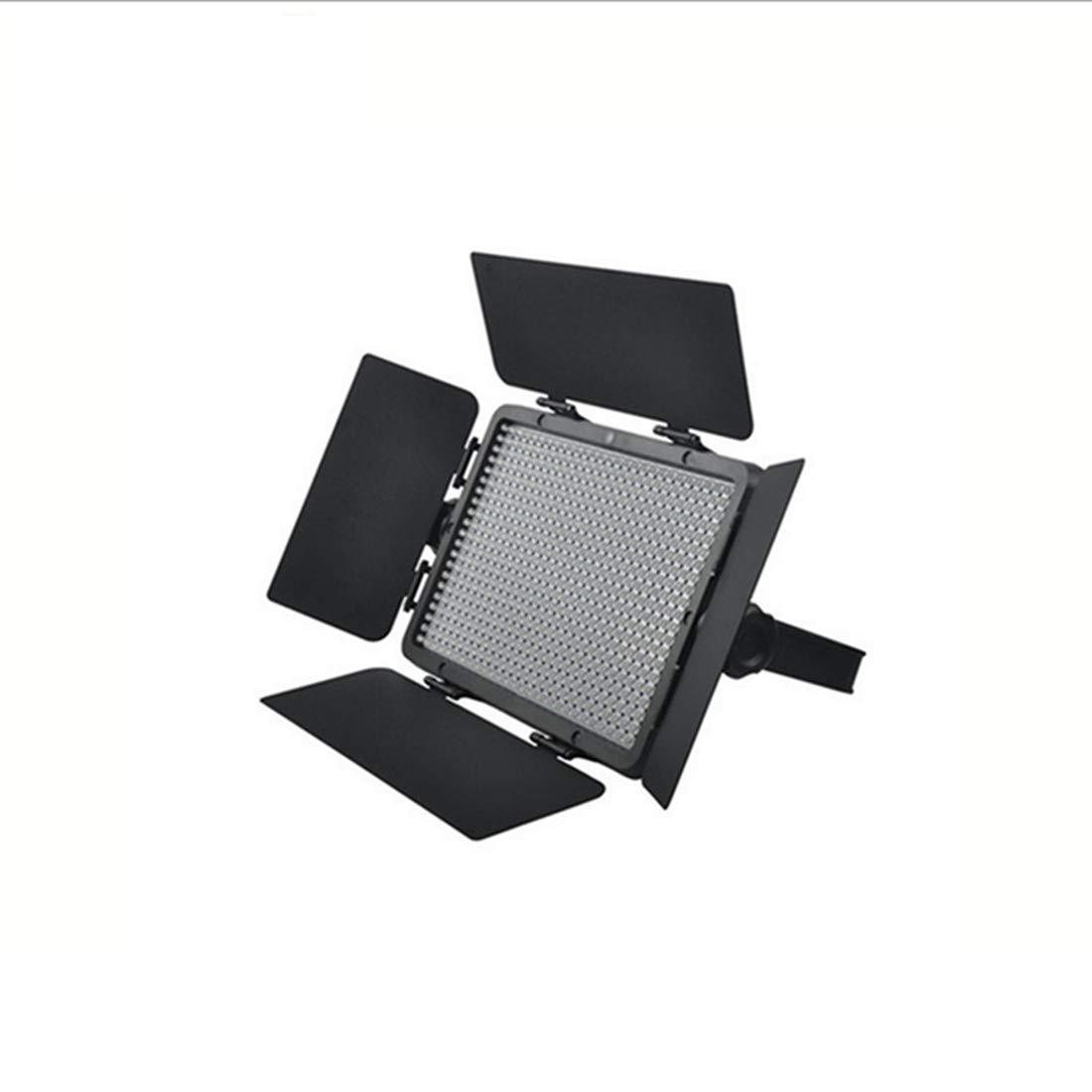 ノウ建材貿易 ニコン、キャノン、ソニーの一眼レフカメラのための写真ライト520 LEDライトウェディング一眼レフカメラフィル光LEDライト (色 : 黒)  黒 B07R3WNVJS