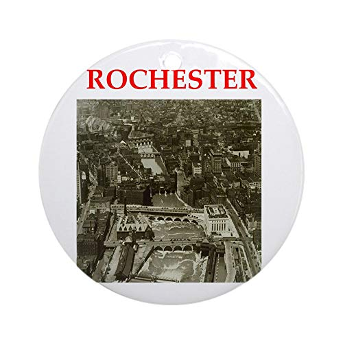 CafePress Rochester Ornament (Round) Round Holiday Christmas