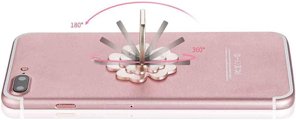 Beaums G/én/éral chanceux unique anneau cadre PC Fleurs Washable t/él/éphone portable support D/étenteurs rotation stand