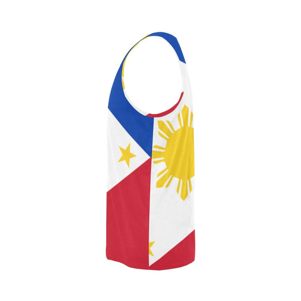 Lumos3DPrint Philippines Flag Mens Tank Top