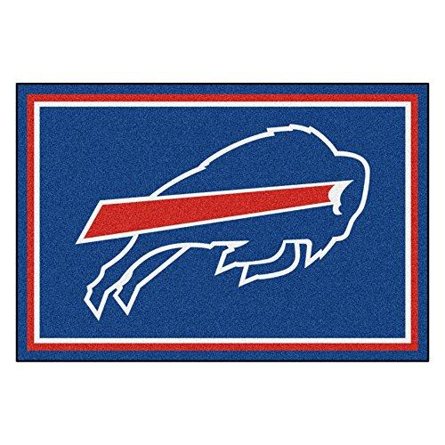 - FANMATS NFL Buffalo Bills Nylon Face 5X8 Plush Rug