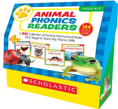 Animal Phonics Readers: A Big Collection of Exciting Informational Books That Target and Teach Key Phonics -
