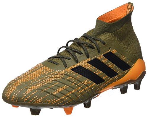 Adidas Mænd Predator 18,1 Fg Fodboldstøvler Grøn (trace Oliven / Kerne Sort / Lys Orange)