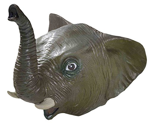 Forum Novelties Men's Deluxe Adult Latex Elephant Mask
