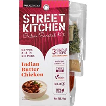 Street Kitchen Indian Butter Chicken Indian Scratch Kit 9 Oz